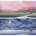 Concept Art - Legacy 06: Lamar Valley Panoramas 1